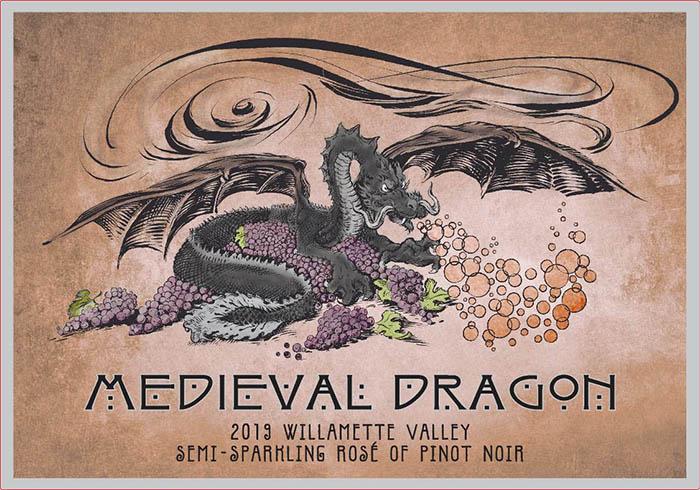 Medieval Dragon Semi-sparkling Pinot Noir