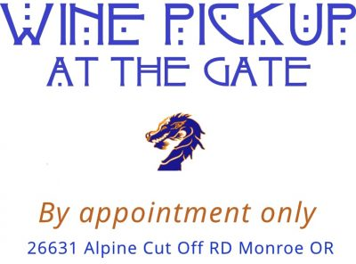 Dragon wines - pickup at the gate